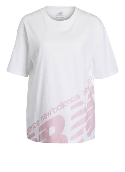 new balance Oversized-Shirt, Farbe: WEISS (Bild 1)