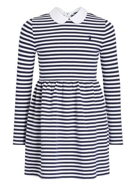 POLO RALPH LAUREN Kleid, Farbe: DUNKELBLAU/ WEISS GESTREIFT (Bild 1)