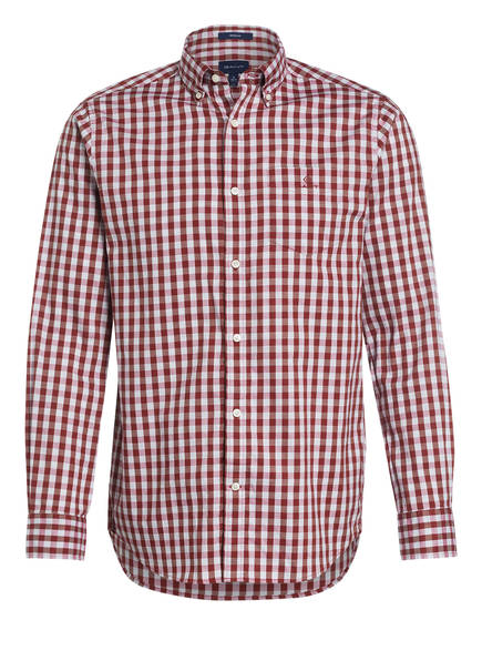 GANT Hemd Regular Fit , Farbe: ROT/ HELLGRAU KARIERT (Bild 1)