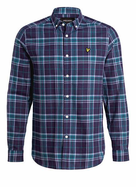 LYLE & SCOTT Hemd Regular Fit, Farbe: BLAU KARIERT (Bild 1)