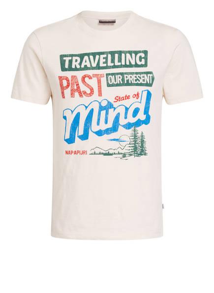 NAPAPIJRI T-Shirt SEEB, Farbe: ECRU MELIERT (Bild 1)