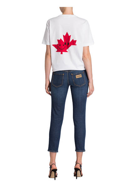 DSQUARED2 dsquared2 Cropped-Jeans Twiggy blau