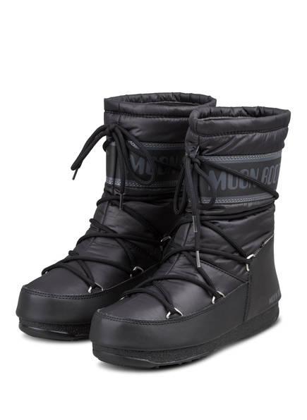 MOON BOOT Moon Boots MID NYLON WP, Farbe: SCHWARZ (Bild 1)