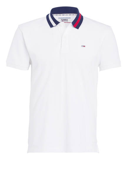 TOMMY JEANS Poloshirt, Farbe: WEISS (Bild 1)