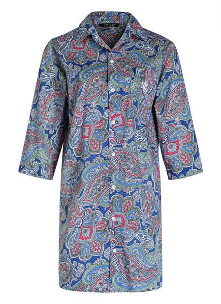 LAUREN RALPH LAUREN Nachthemd , Farbe: BLAU/ HELLROT (Bild 1)