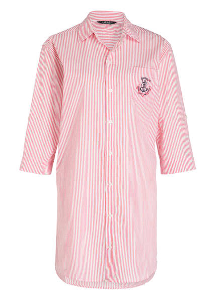 LAUREN RALPH LAUREN Nachthemd , Farbe: WEISS/ HELLROT (Bild 1)