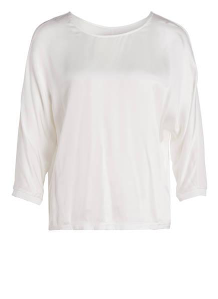LIEBLINGSSTÜCK Blusenshirt mit 3/4-Arm mit Seide, Farbe: WEISS (Bild 1)