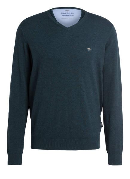 FYNCH-HATTON Pullover, Farbe: DUNKELGRÜN MELIERT (Bild 1)
