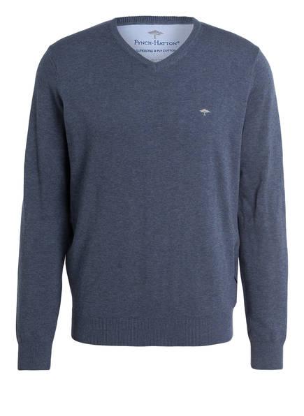 FYNCH-HATTON Pullover, Farbe: HELLBLAU MELIERT (Bild 1)