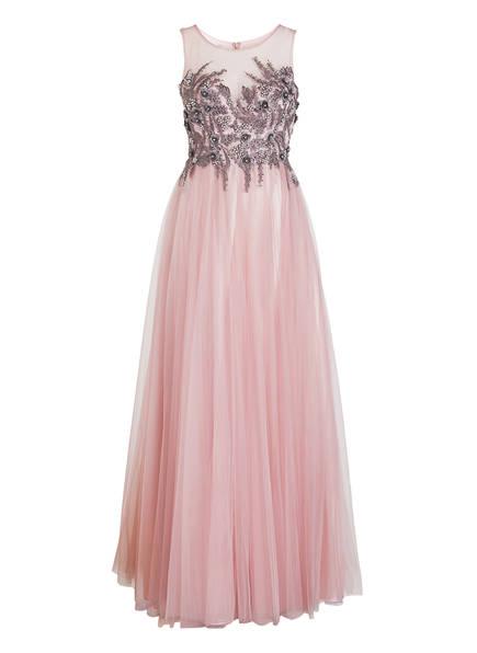 VISOUS Abendkleid mit Stola, Farbe: ROSA (Bild 1)