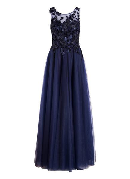 VISOUS Abendkleid mit Stola, Farbe: DUNKELBLAU (Bild 1)