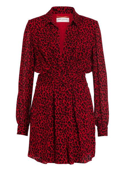 SAINT LAURENT Kleid, Farbe: ROT/ SCHWARZ (Bild 1)