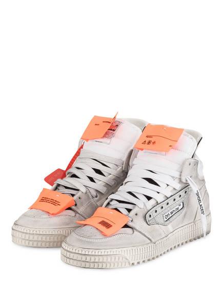 OFF-WHITE Hightop-Sneaker OFF COURT, Farbe: WEISS/ GRAU (Bild 1)