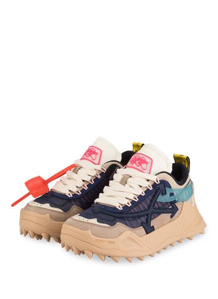 OFF-WHITE Sneaker ODSY-1000 , Farbe: DUNKELBLAU/ BEIGE (Bild 1)