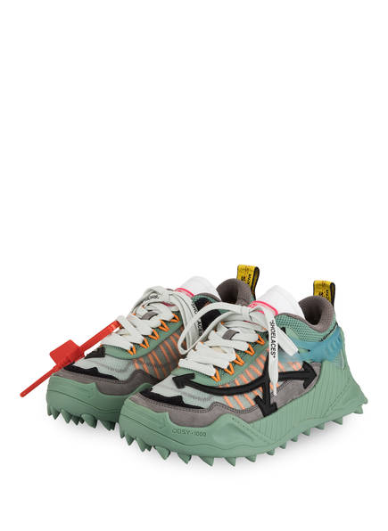OFF-WHITE Sneaker ODSY-1000 , Farbe: MINT/ GRAU (Bild 1)