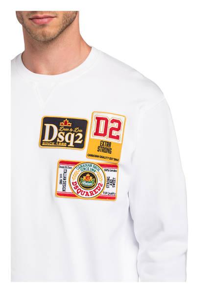 DSQUARED2 Hoodies & Sweatshirts | dsquared2 Sweatshirt weiss