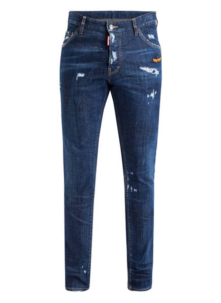 DSQUARED2 Destroyed Jeans COOL GUY, Farbe: BLUE (Bild 1)
