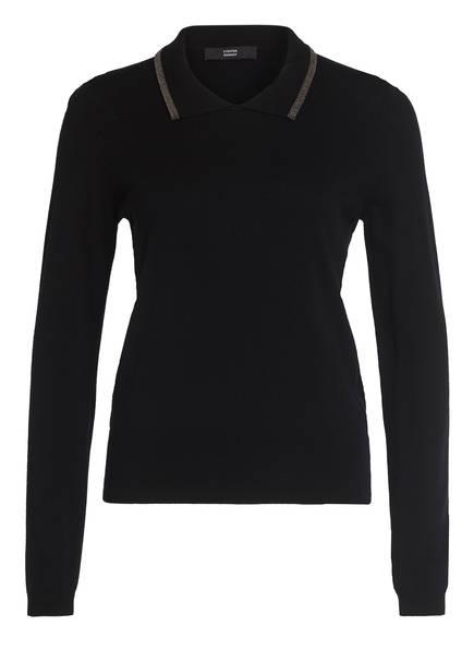STEFFEN SCHRAUT Pullover mit Schmuckbesatz, Farbe: SCHWARZ (Bild 1)
