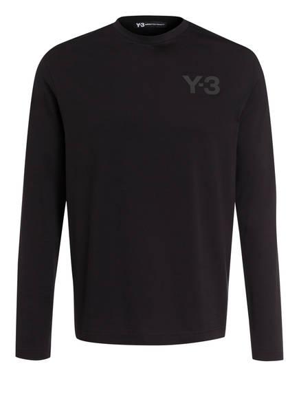 Y-3 Langarmshirt, Farbe: SCHWARZ (Bild 1)
