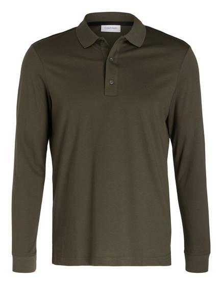 Calvin Klein Jersey-Poloshirt, Farbe: OLIV (Bild 1)