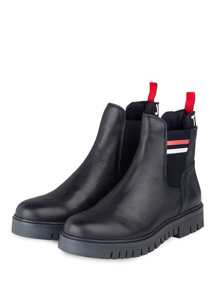 TOMMY JEANS Chelsea-Boots, Farbe: DUNKELBLAU (Bild 1)