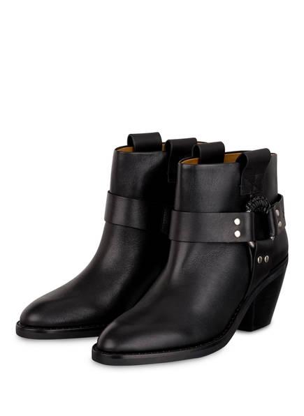 SEE BY CHLOÉ Cowboy Boots, Farbe: SCHWARZ (Bild 1)