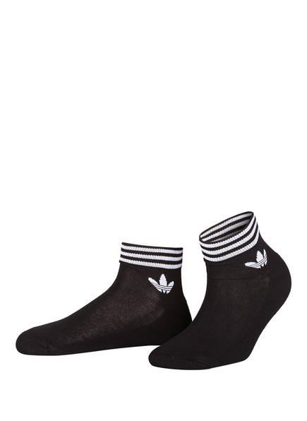 adidas Originals 3er-Pack Socken, Farbe: SCHWARZ (Bild 1)