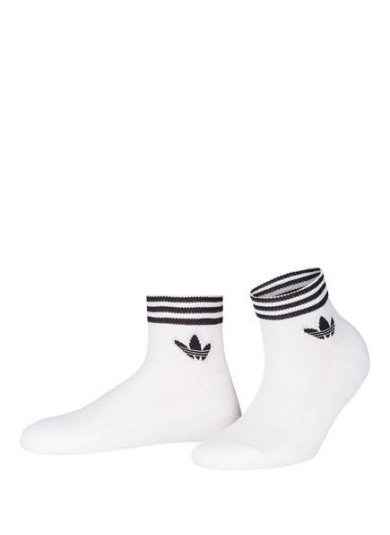 adidas Originals 3er-Pack Socken, Farbe: WEISS (Bild 1)