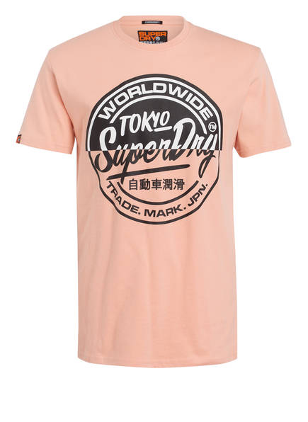 Superdry T-Shirt TICKET TYPE, Farbe: HELLORANGE (Bild 1)