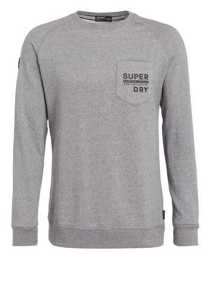 Superdry Sweatshirt, Farbe: GRAU MELIERT (Bild 1)