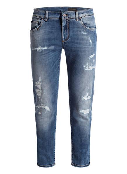 DOLCE&GABBANA Jeans Slim Fit, Farbe: BLUE DENIM (Bild 1)