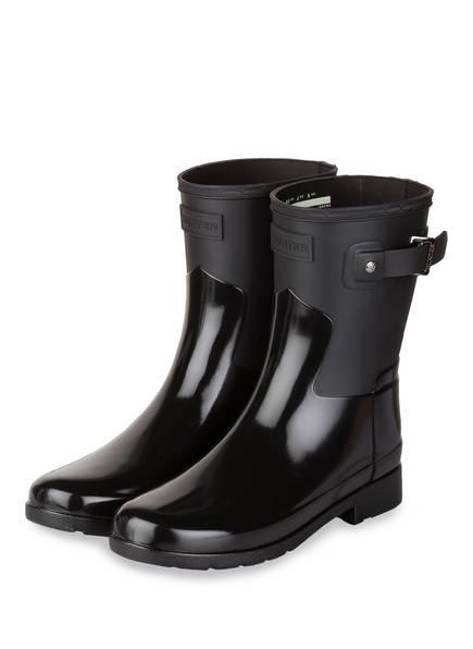 HUNTER Gummi-Boots REFINED, Farbe: SCHWARZ (Bild 1)