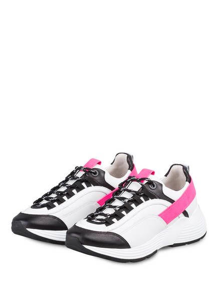 KENNEL & SCHMENGER Sneaker HIT, Farbe: WEISS/ NEONPINK/ SCHWARZ (Bild 1)