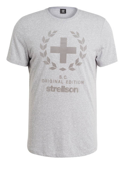 strellson T-Shirt FELLSMERE, Farbe: HELLGRAU MELIERT (Bild 1)