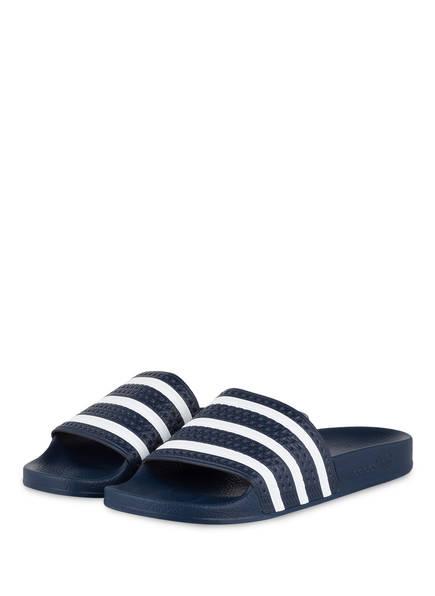 adidas Originals Pantoletten, Farbe: NAVY/ WEISS  (Bild 1)