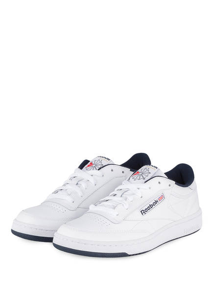 Reebok Sneaker CLUB C 85, Farbe: WEISS/ NAVY (Bild 1)