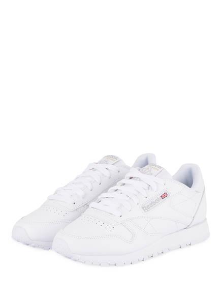 Reebok Sneaker CLASSIC LEATHER, Farbe: WEISS (Bild 1)