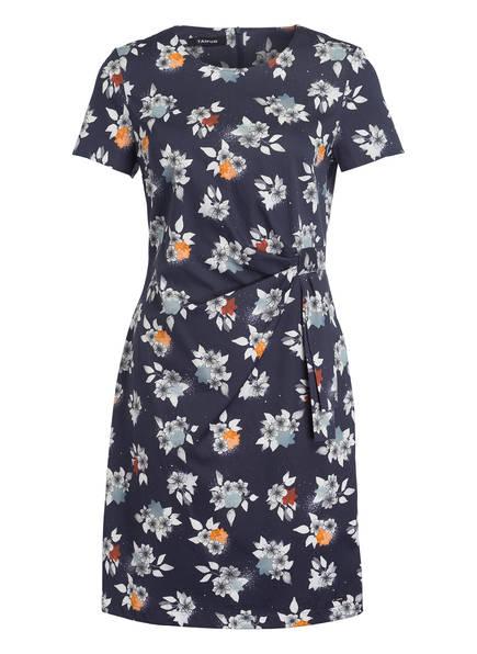 TAIFUN Kleid, Farbe: DUNKELBLAU/ WEISS/ ORANGE (Bild 1)