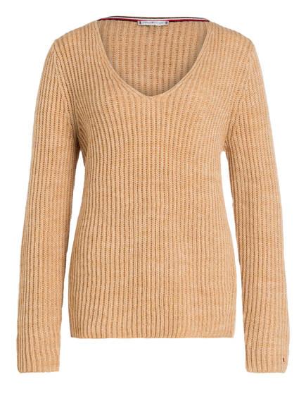 TOMMY HILFIGER Pullover MALLOREE, Farbe: CAMEL (Bild 1)