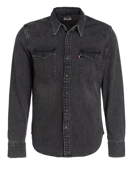 Levi's® Jeanshemd BARSTOW WESTERN Classic Fit, Farbe: BLACK WORN IN (Bild 1)