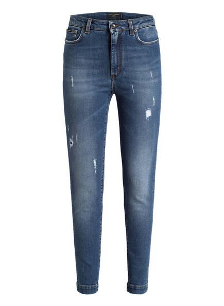 DOLCE&GABBANA 7/8-Jeans AUDREY, Farbe: DENIM (Bild 1)