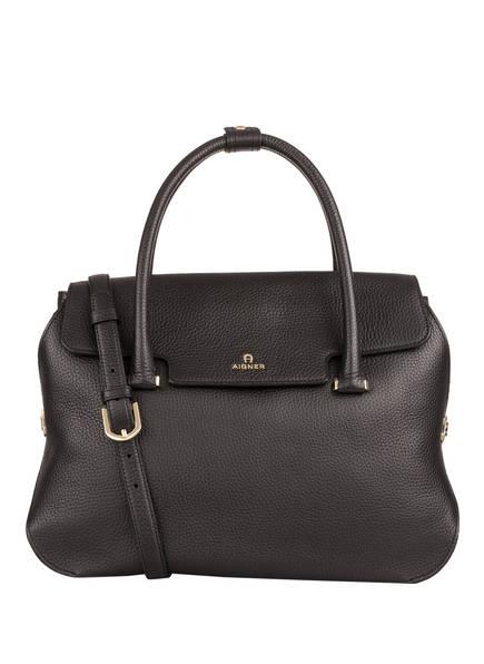 AIGNER Handtasche MILANO, Farbe: SCHWARZ (Bild 1)