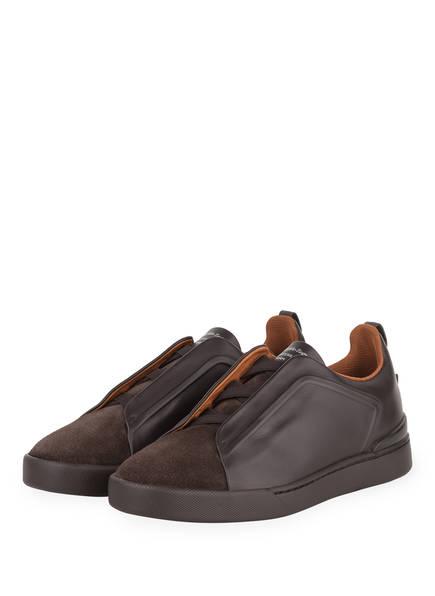 Ermenegildo Zegna Sneaker  , Farbe: BRAUN (Bild 1)