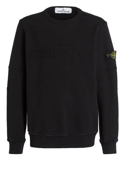 STONE ISLAND JUNIOR Sweatshirt, Farbe: SCHWARZ (Bild 1)