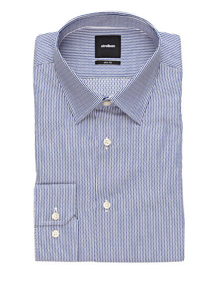 strellson Hemd SANDER Slim Fit, Farbe: BLAU/ WEISS (Bild 1)