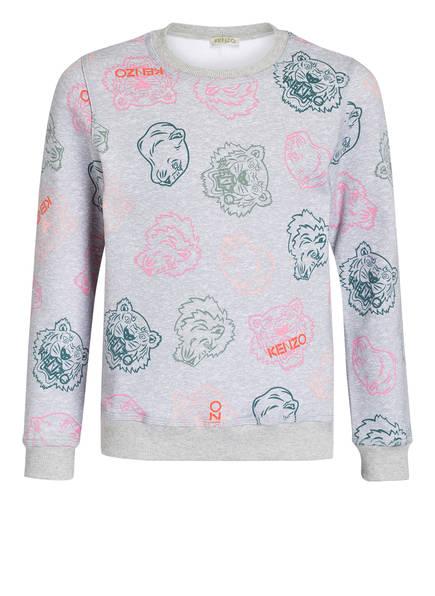KENZO Sweatshirt, Farbe: GRAU MELIERT (Bild 1)