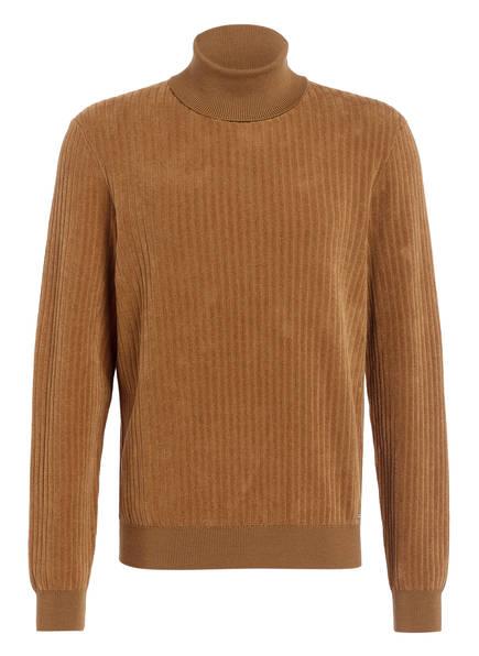 HUGO Pullover SLUSSON, Farbe: COGNAC (Bild 1)