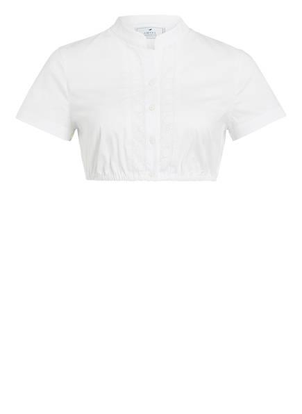 AMSEL Dirndlbluse HANNI, Farbe: WEISS (Bild 1)