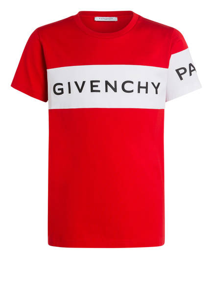 GIVENCHY T-Shirt , Farbe: ROT/ WEISS (Bild 1)