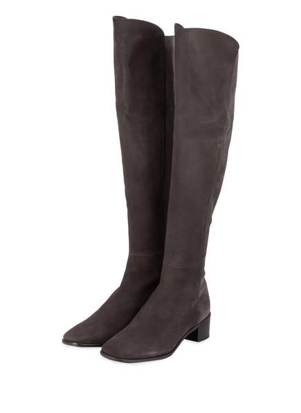 STUART WEITZMAN Overknee-Stiefel TIA, Farbe: DUNKELGRAU (Bild 1)